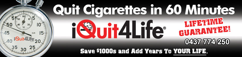 I Quit for Life - Quit Cigarettes in 60 Minutes, stop smoking, quit smoking!